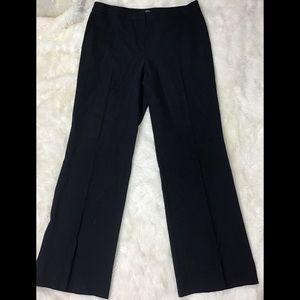 Lafayette 148 black formal pants size 14